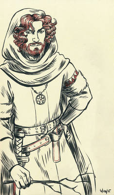 1st Gawain for Inktober 2015