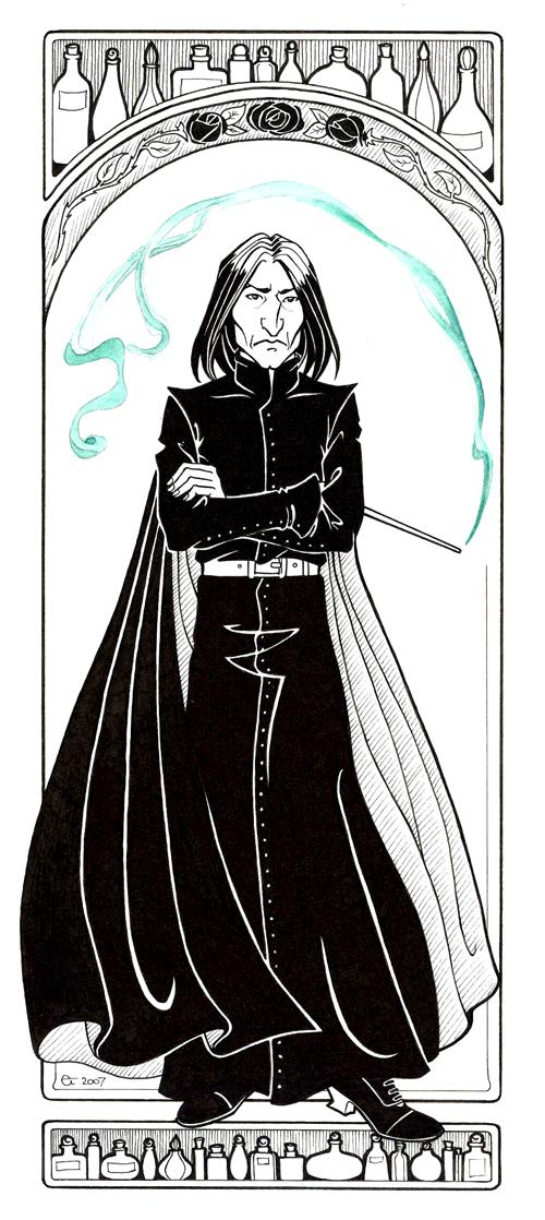 Severus Snape by Sigune