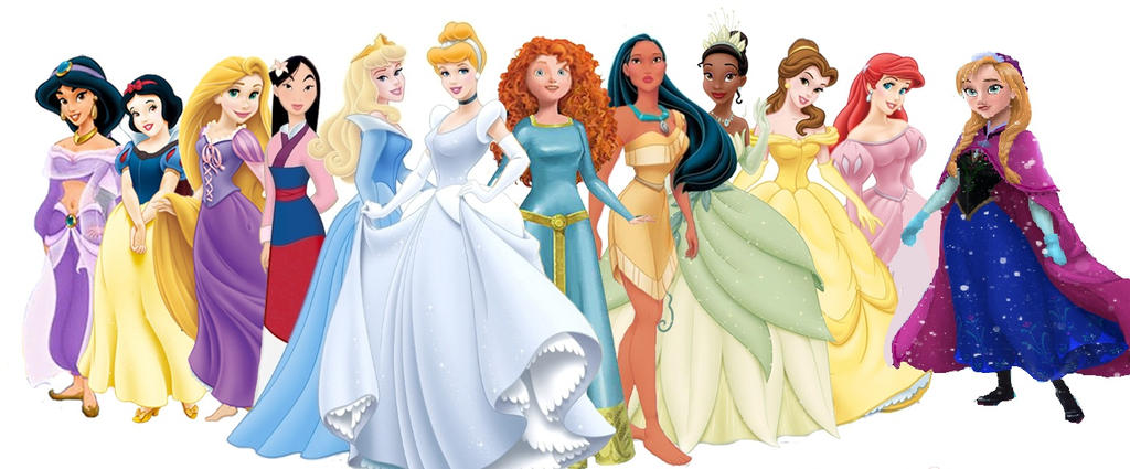 All Disney Princesses list