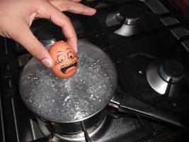 Eggs 3 - Boiled egg? by XxdrummerxX