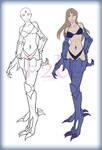 Eyedra - Common Female F2U Base by MutationIvo