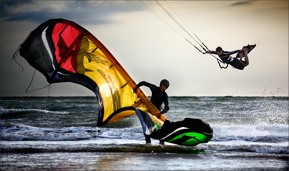 Kite Surf by plo0m