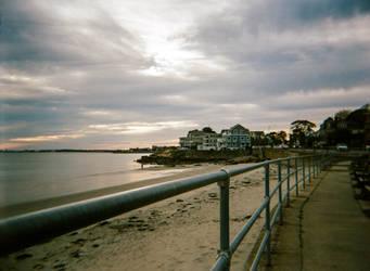 Atlantic Sunset by Frannister