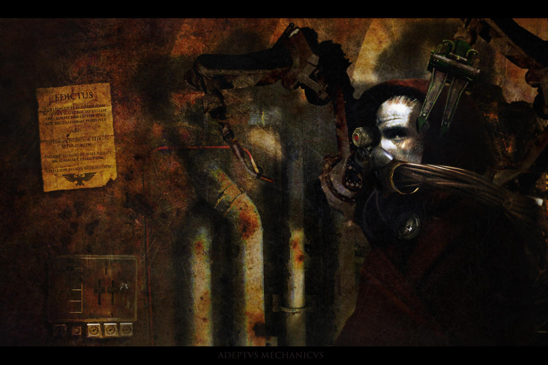 Adeptus Mechanicus by shadowmageix