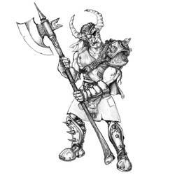Troll Skyraider -earthdawn- by shadowmageix