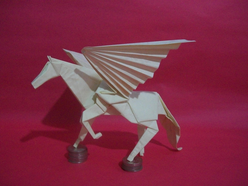 Origami Pegasus Satoshi Kamiya By Lhwz On Deviantart