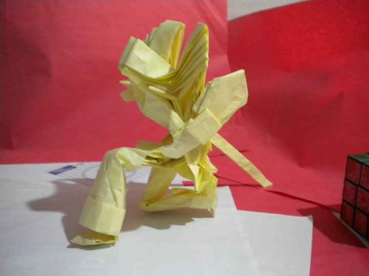 Origami Swordsman Hoang Trung Thanh By LHwZ