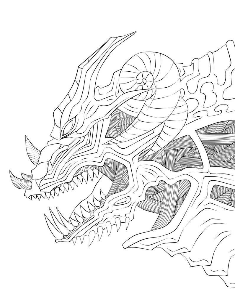Rhino line art by War-Off-Evil on DeviantArt