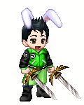 The Rabbit Swordsman - Aregano by twixthepichu