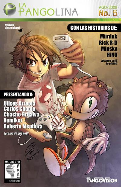 LA PANGOLINA 5 COVER by eL-HiNO