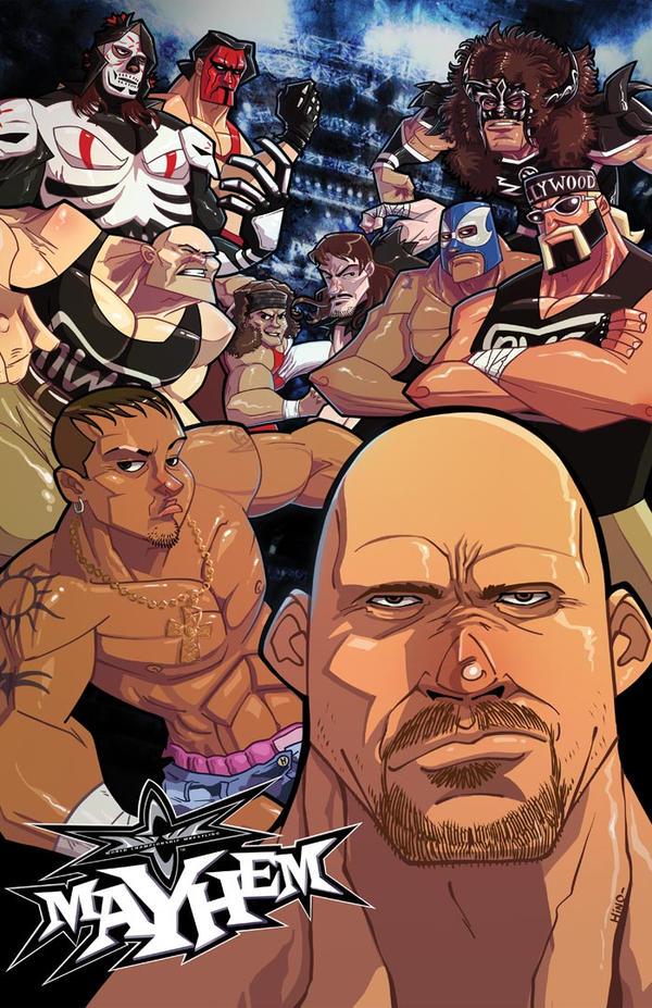 WCW Mayhem by eL-HiNO