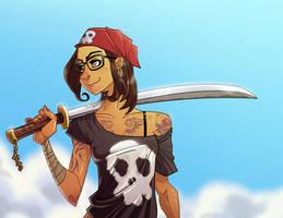 Pirate gal by eL-HiNO