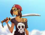 Pirate gal