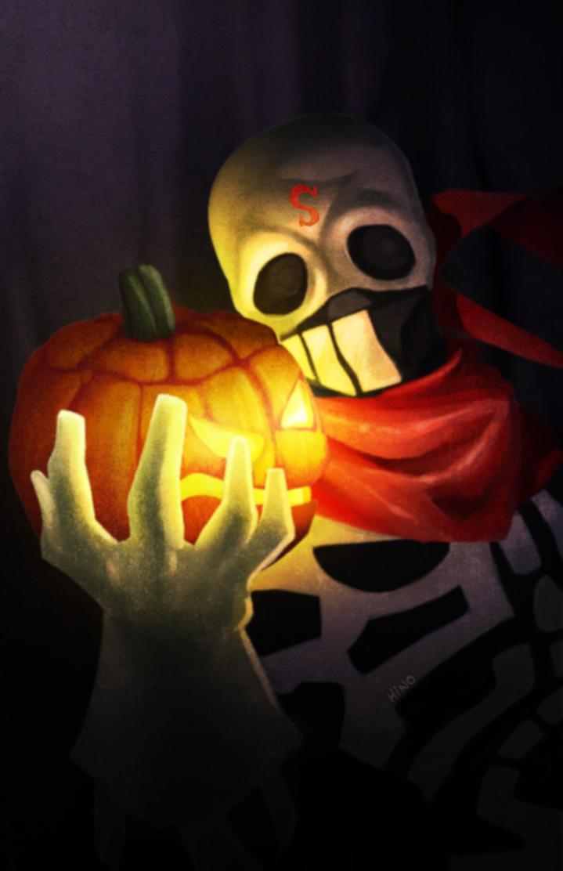 Skull-o-hollow by eL-HiNO