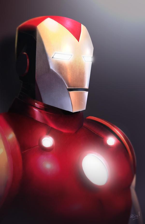 Iron Man Commish by eL-HiNO