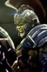 Hulk Ragnarok by eL-HiNO