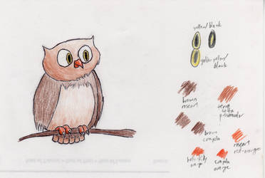 Fat Owl by Apdenoatis