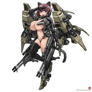 leader jet - cat mech [original design]