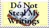 STAMP: Do not steal writings