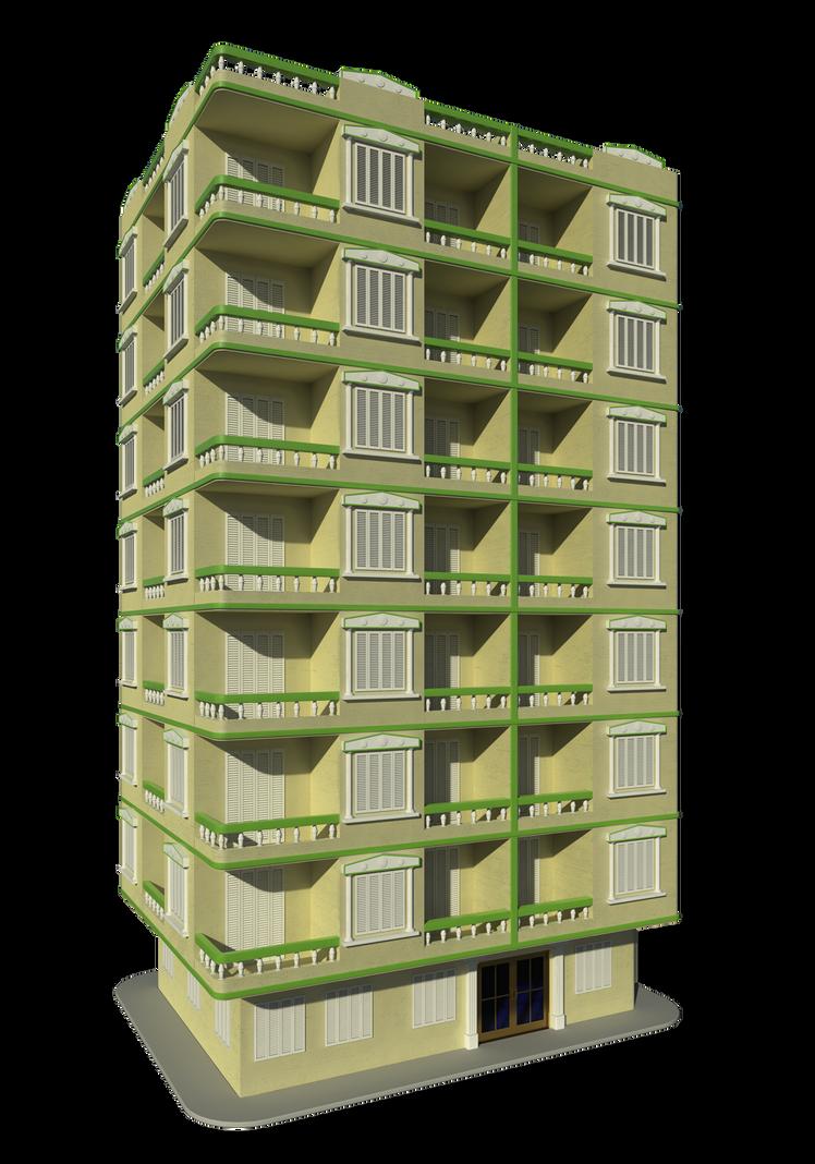 Apartment Building Png simple apartment buildingthe-artificial-mind on deviantart