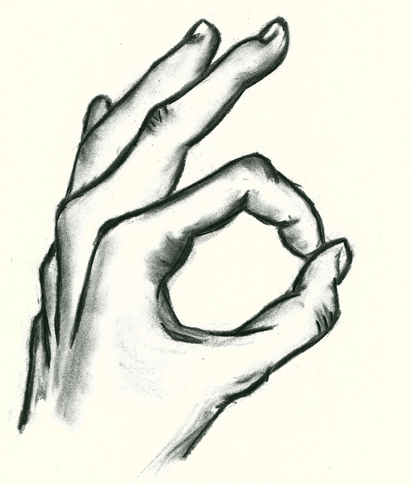how to draw a perfect hand
