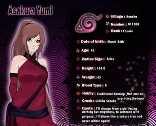 Yumi info card by XxYumiHimexX
