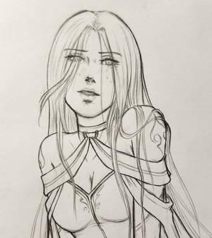 Sketch from a Not Dead Artist