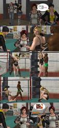 Helena Douglas Has Wrestling Moves Part 4 by PwN3Rship
