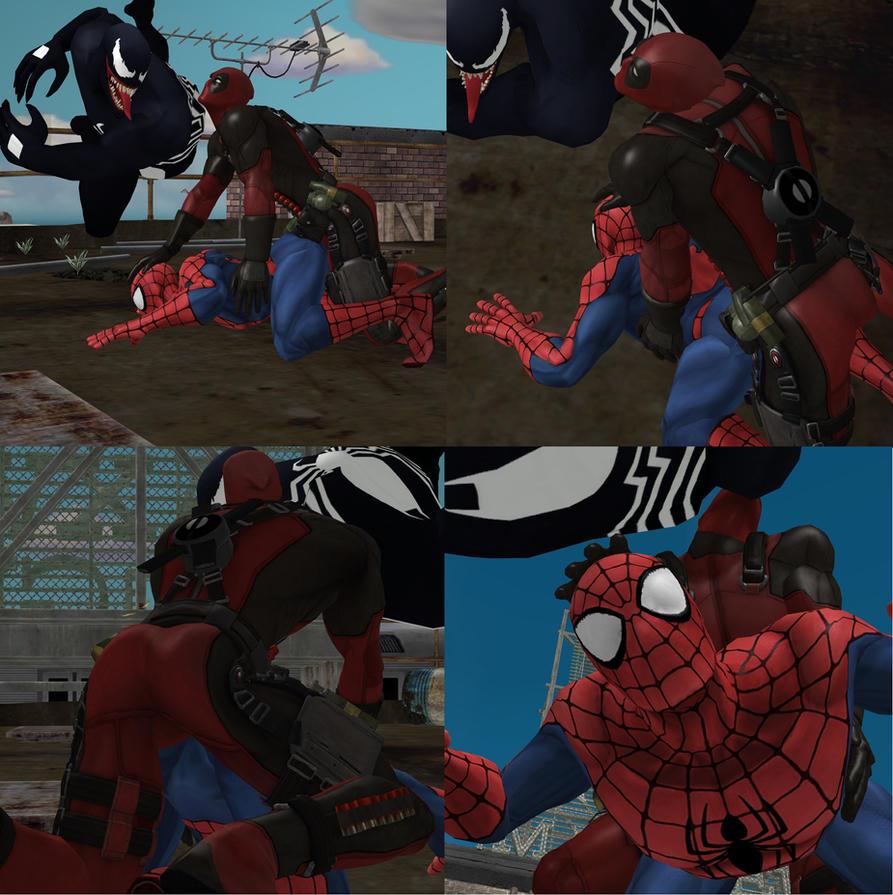 fotos gay spiderman