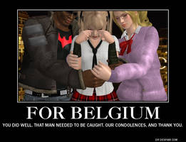 For Belgium our condolences by PwN3Rship