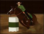 TRWF - Barrel Racing