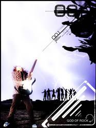 God of Rock 001 by exorist