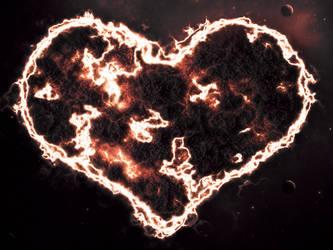 Shattered Heart Nebula by exorist