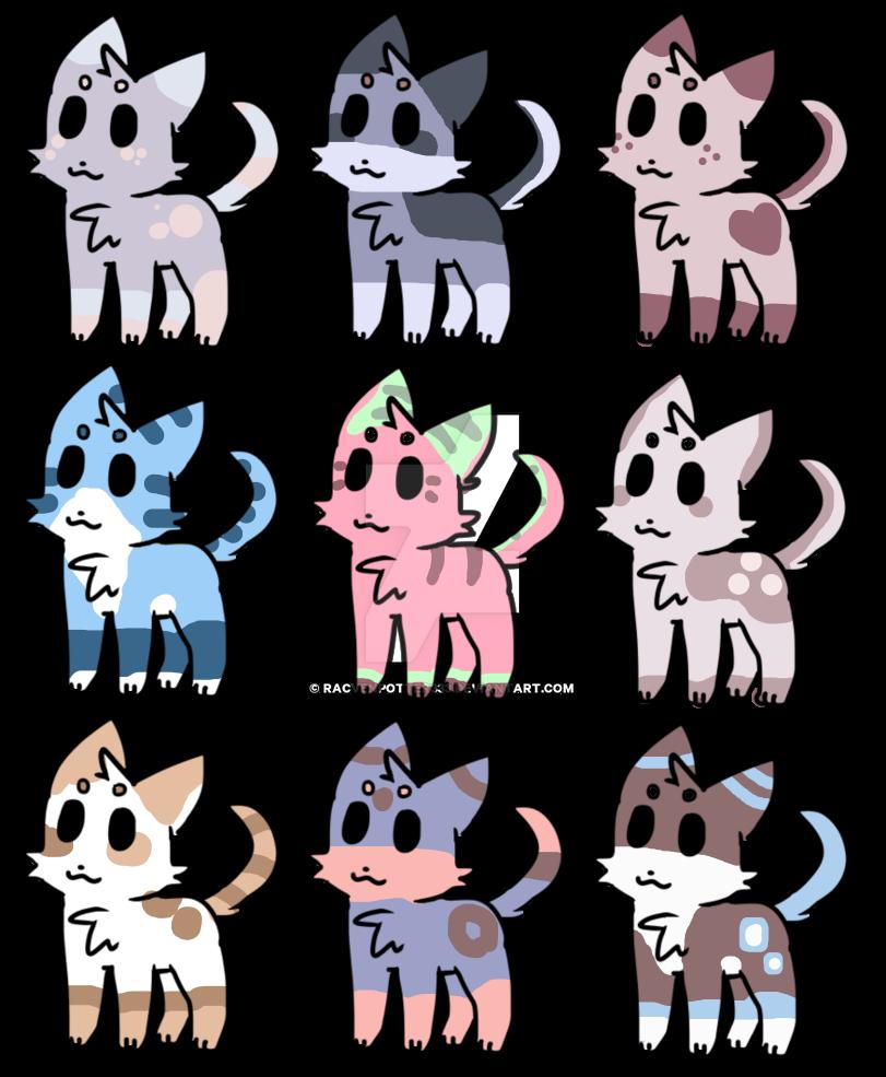 cat adopts (open) by racvenpotter333