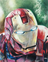 Iron Man by Starr-Fall