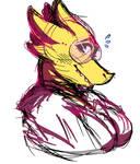 alphys doodle