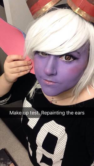 Tristana Cosplay Makeup Test
