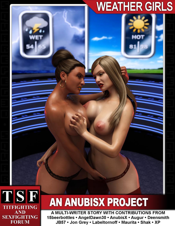 weather girls  by squarepeg3d by anubisxrelatos daqhmgk