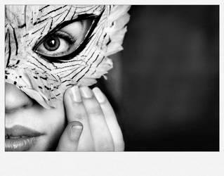 Feather Mask by LacrymosaStudio