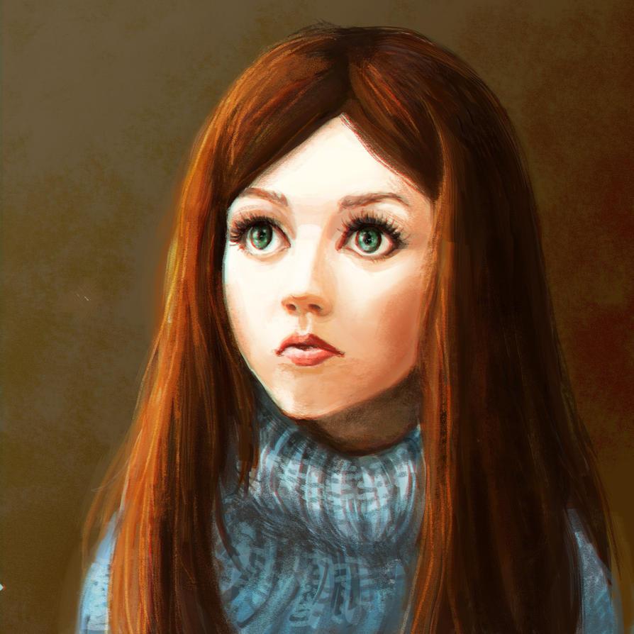 Her eyelashes by Kuroriku