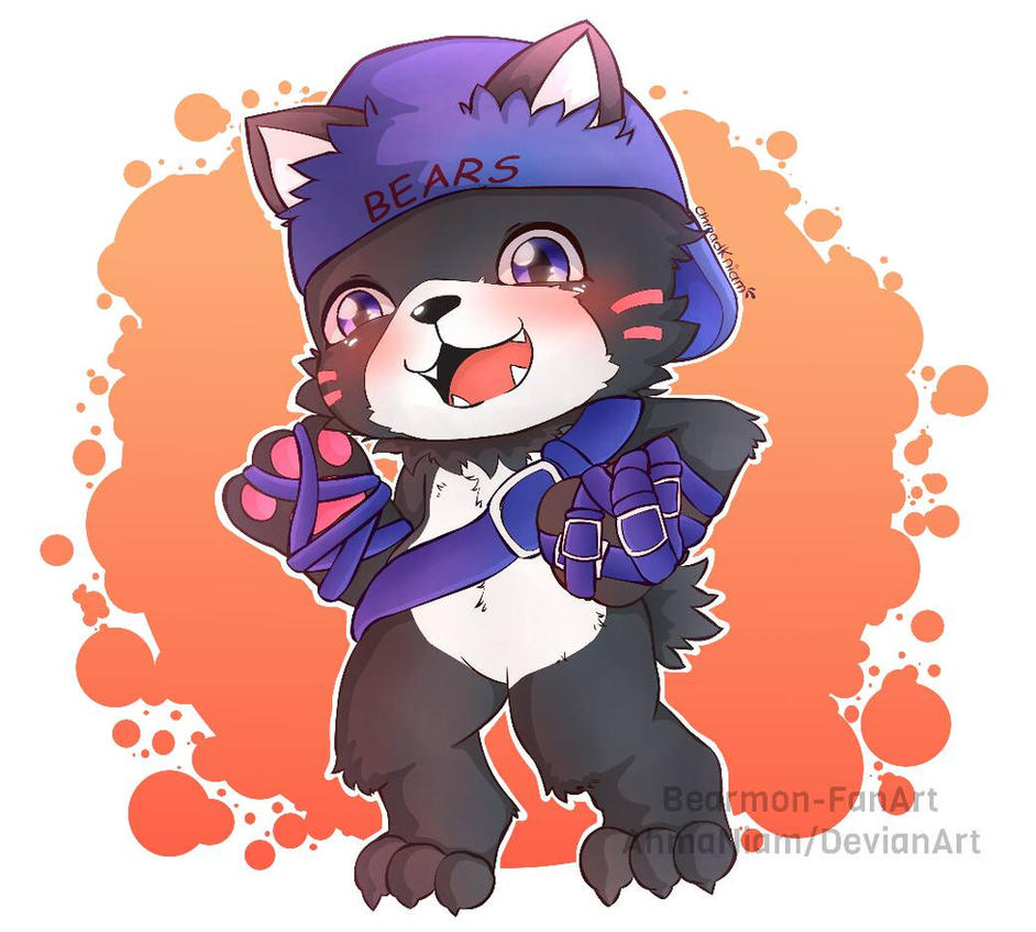 FanArt-Digimon Bearmon by AhmaNiam