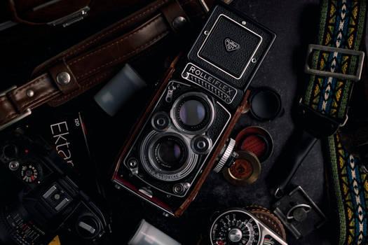 Film Gear Still Life