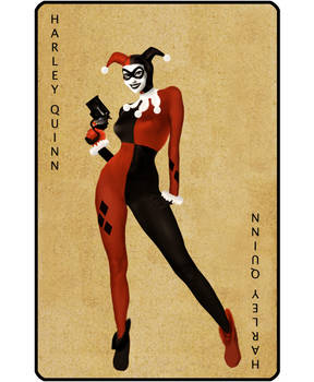 Harley Quinn Pin-Up