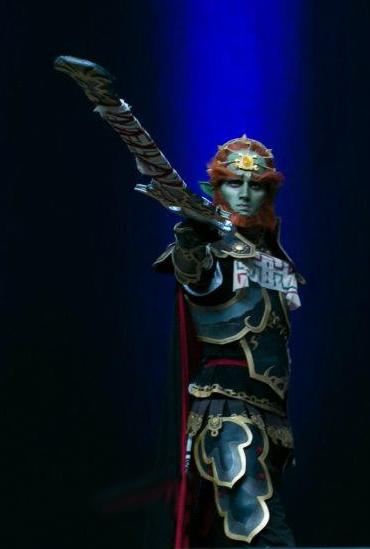 Ganondorf Otakon 2012 HCC Masquerade Walkon by stopthedance