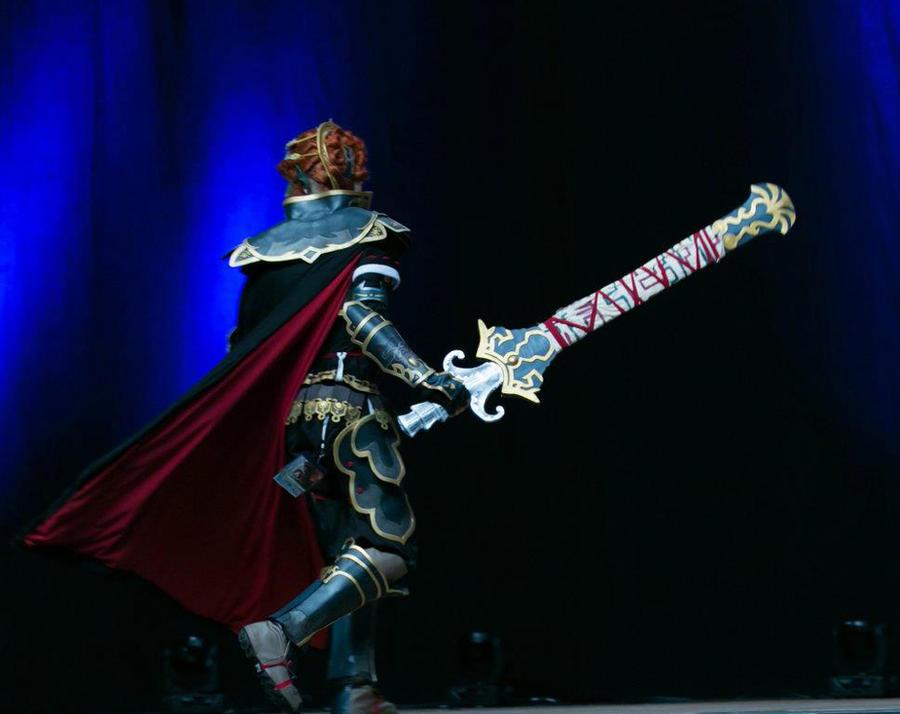 Ganondorf Otakon 2012 HCC Masquerade Walkon Behind by stopthedance