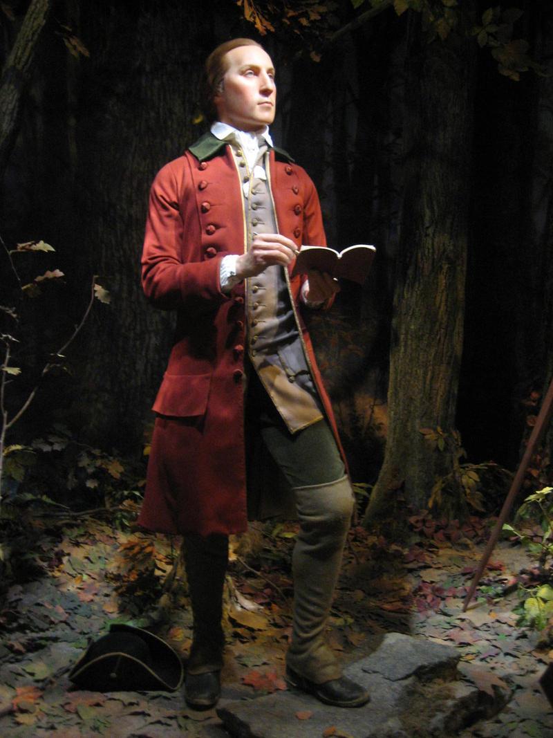 George Washington on Wax by weut