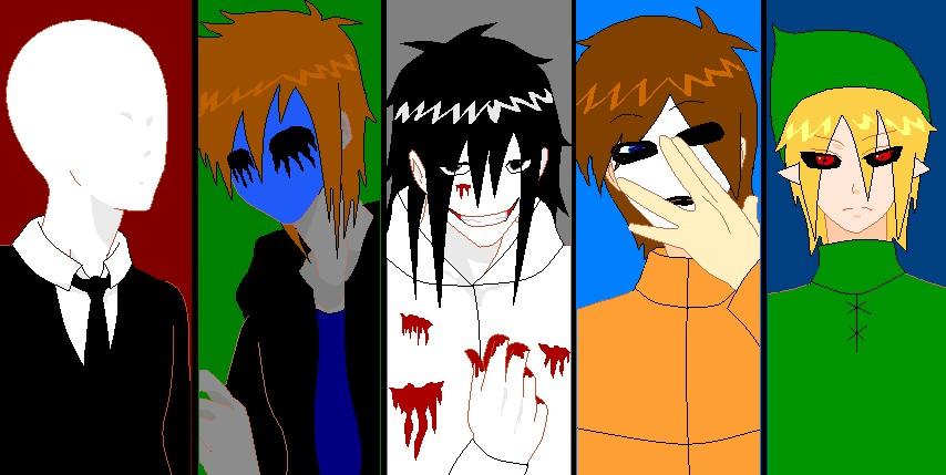 Anime Creepypasta Creepypasta boyz by hitomi-