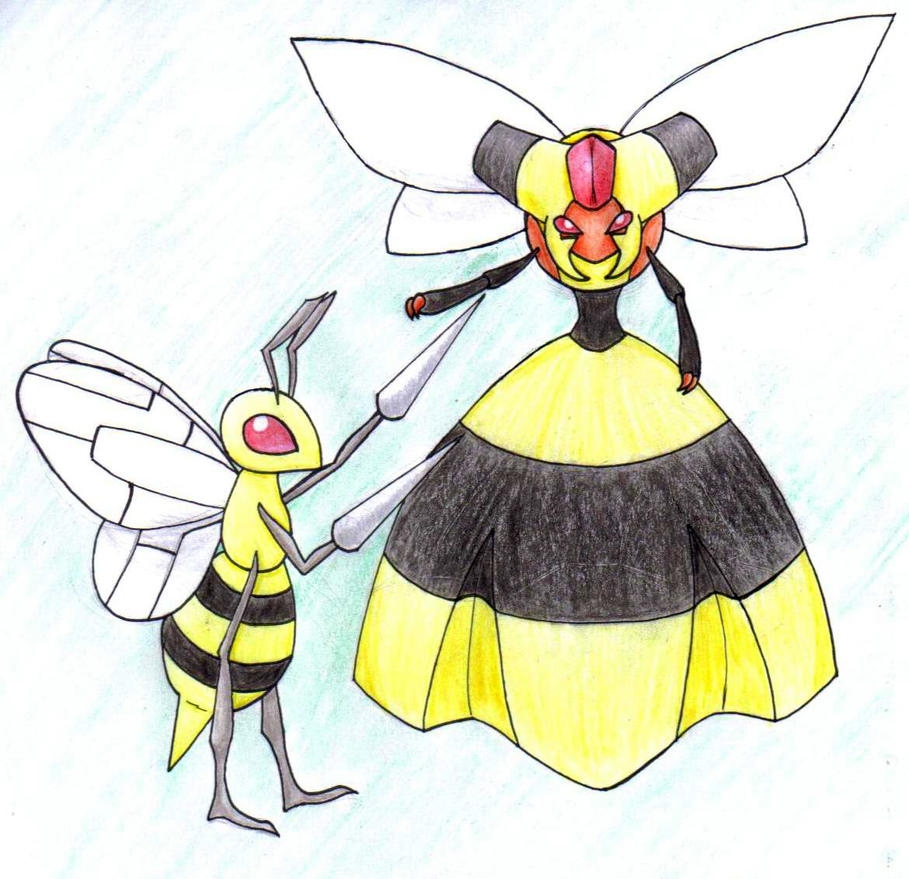 Pokemon Vespiquen And Beedrill Images | Pokemon Images