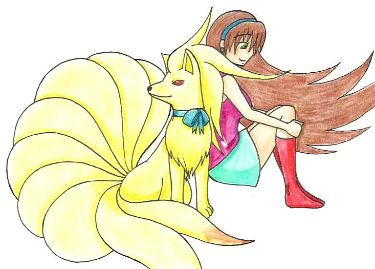 Shizuka and Marely by Hitomi-chan666