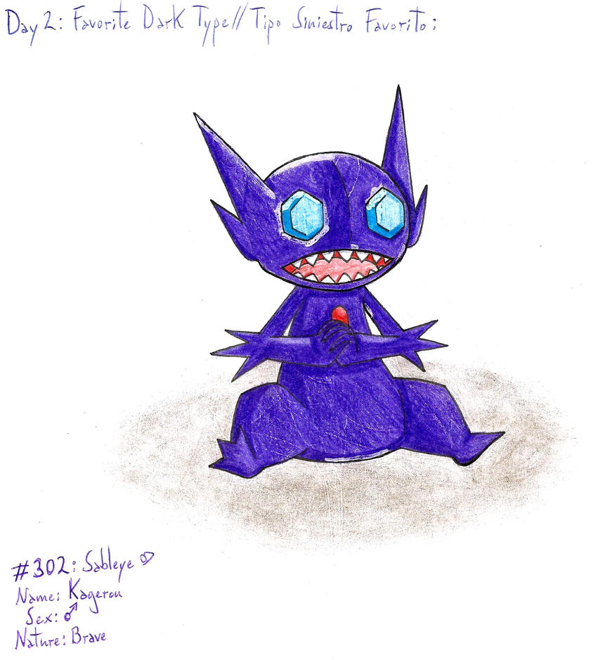 02 - My Favorite Dark Type by Hitomi-chan666
